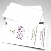 Agnes Scott College Student Business Cards (pack of 250)