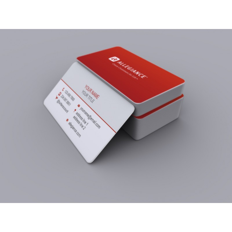 Business card pack of 250 rounded corners allegiance business card pack of 250 rounded corners colourmoves Image collections