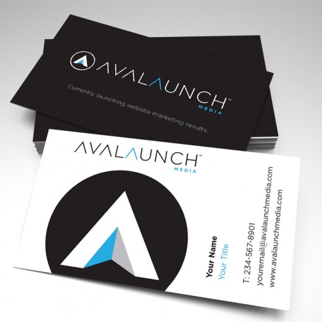 Avalaunch Media Business Cards No Cell Phone (pack of 250)