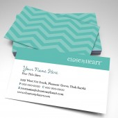 Close To My Heart Chevron Business Cards (pack of 250)
