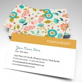Close To My Heart Floral Business Cards (pack of 250)