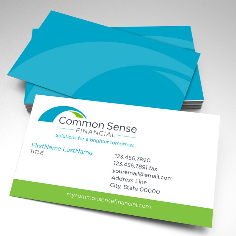Sense financial business cards pack of 250 common sense financial business cards pack of 250 colourmoves Images