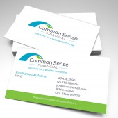Common Sense Financial Business Cards (pack of 250)