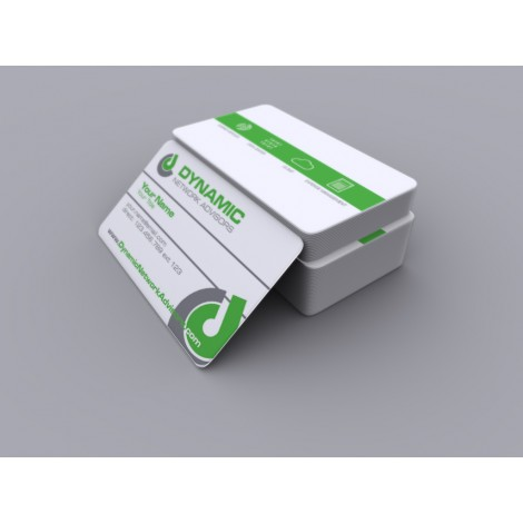 Dynamic Network Advisors Business Card (pack of 250) (rounded corners)