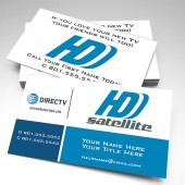Elevate - HDD Satellite Business Cards (pack of 250)