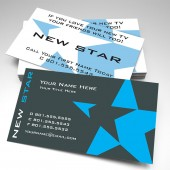 Elevate - New Star Business Cards (pack of 250)