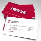 Elevate - Profire No Fax Business Cards Style 2 (pack of 250)