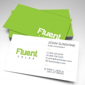 Fluent Business Cards 2018 (pack of 250)