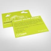 Fluent Postcards Style 2 (Going Solar Sucks) (pack of 25)