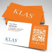 KLAS Business Cards (pack of 250)