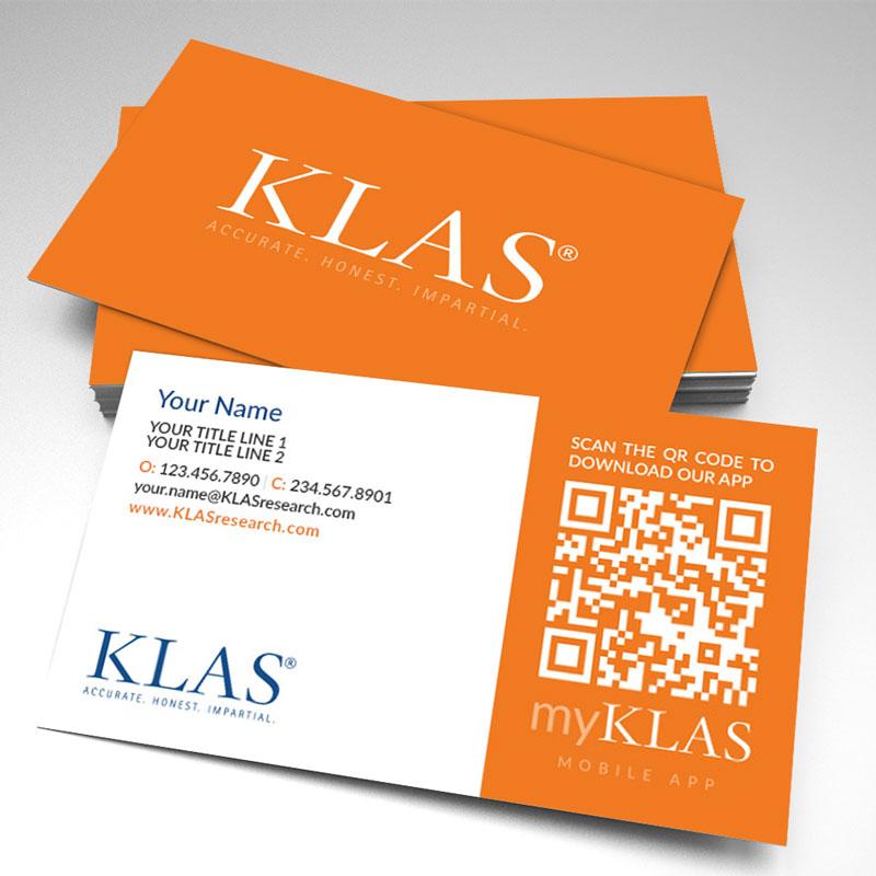 KLAS Business Cards (pack of 250)