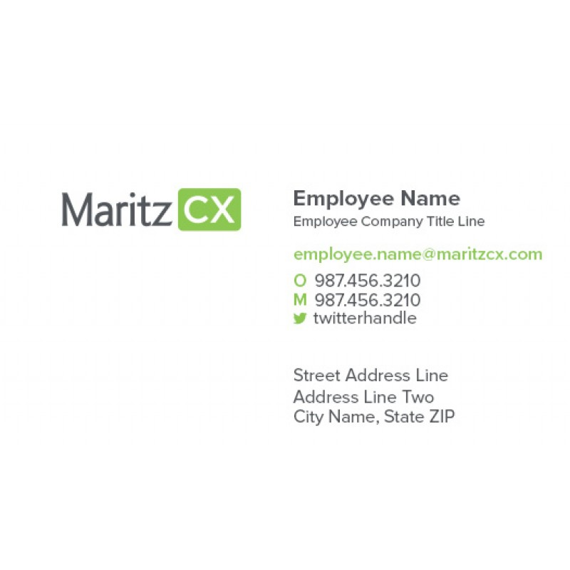 Business Card - 7 Options (pack of 250)