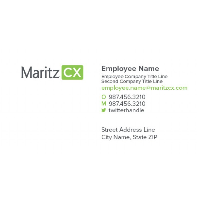 Maritzcx Business Card 7 Options Pack Of 250