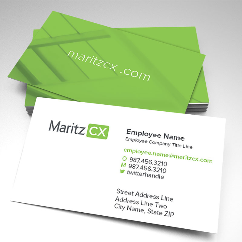 MaritzCX Business Card - 7 Options (pack of 250)