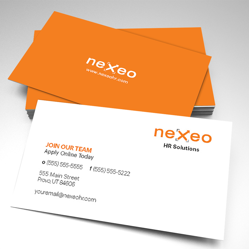 Nexeo join our team business cards pack of 250 colourmoves