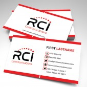 RCI Communications Business Card (pack of 250)