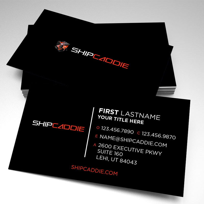 Shipcaddie business cards new design pack of 250 reheart Choice Image