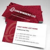 Sidewinders Business Card (pack of 250)