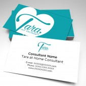 Tara At Home Consultant Business Cards (pack of 250)