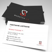 Wasatch IT Business Card (pack of 250)